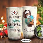 Nightshift Nurse Personalized NNR1011010 Stainless Steel Tumbler