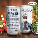Black Nurse Faith Personalized NNR1011003 Stainless Steel Tumbler