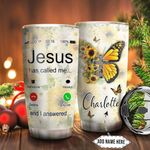 Butterfly Faith Personalized NNR1011004 Stainless Steel Tumbler