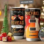 Electric Guitar Personalized PYR1011006 Stainless Steel Tumbler