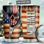 Skull Personalized PYR1011016 Stainless Steel Tumbler