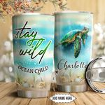 Turtle Personalized NNR1011019 Stainless Steel Tumbler