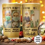Nurse Personalized HTC1011008 Stainless Steel Tumbler