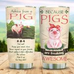 Pig Advice For You KD2 MAL1011012 Stainless Steel Tumbler