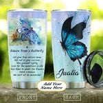 Butterfly Personalized KD2 HAL1011003 Stainless Steel Tumbler