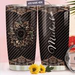 Personalized Sunflower Hunting TTZ1011023 Stainless Steel Tumbler