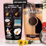 Acoustic Guitar Personalized DNR1111001 Stainless Steel Tumbler