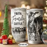 Cattle Faith Personalized NNR1111004 Stainless Steel Tumbler