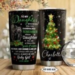 Mom To Daughter Christmas Personalized NNR1111016 Stainless Steel Tumbler