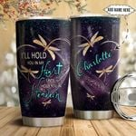 Dragonfly Faith Personalized NNR1111007 Stainless Steel Tumbler