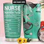 Nurse Fact Personalized DNR1111018 Stainless Steel Tumbler