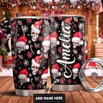 Skull Christmas Personalized DNR1111020 Stainless Steel Tumbler