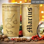 Golf Club Personalized THA1111011 Stainless Steel Tumbler