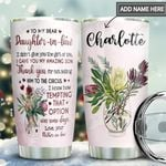 To Daughter In Law Personalized MDA1111009 Stainless Steel Tumbler