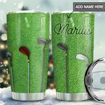 Golf Clubs Personalized THA1111012 Stainless Steel Tumbler
