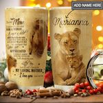 To Lion Mom Personalized THA1111015 Stainless Steel Tumbler