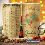 Crochet Personalized MDA1111002 Stainless Steel Tumbler