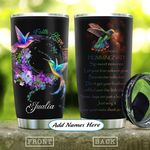 Hummingbirds Advice Personalized KD2 HAL1111008 Stainless Steel Tumbler