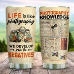 Photographers Develop From The Negatives KD2 ZZL1111013 Stainless Steel Tumbler
