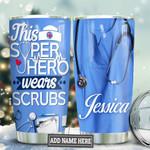 Nurse Hero Personalized TAS1111005 Stainless Steel Tumbler