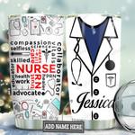 Nurse Typo Personalized TAS1111007 Stainless Steel Tumbler