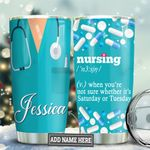 Nursing Definition Personalized TAS1111008 Stainless Steel Tumbler