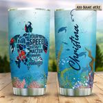 Sea Turtle Sea Quote Personalized KD2 HRX1111002 Stainless Steel Tumbler