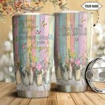 Butterfly Personalized HTC1111005 Stainless Steel Tumbler