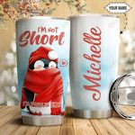 Penguin Christmas Personalized HTQ1111012 Stainless Steel Tumbler