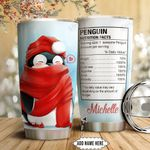 Penguin Nutrition Facts Personalized HTQ1111013 Stainless Steel Tumbler