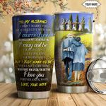 To my Husband Personalized HTC1111017 Stainless Steel Tumbler