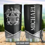 Personalized US Navy Metal Style TTZ1111032 Stainless Steel Tumbler