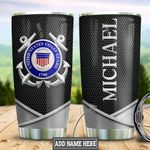 Personalized US Coast Guard Metal Style TTZ1111030 Stainless Steel Tumbler