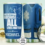 Personalized EMS Uniform HHZ1111010 Stainless Steel Tumbler