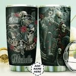 Personalized Day Of The Dead HHZ1111008 Stainless Steel Tumbler