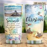Sea Turtle Personalized KD2 HRX1211011 Stainless Steel Tumbler