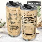 Sewing Machine Personalized THA1211016 Stainless Steel Tumbler