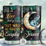Elephant And Crescent Moon Personalized TAS1211003 Stainless Steel Tumbler