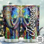 Elephant Art Personalized TAS1211004 Stainless Steel Tumbler