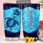 Sea Turtle Personalized PYR1211009 Stainless Steel Tumbler
