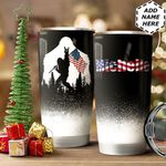 Bigfoot American Personalized HTQ1211001 Stainless Steel Tumbler