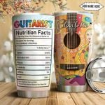 Hippie Guitar Personalized NNR1211006 Stainless Steel Tumbler