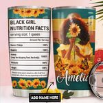 Black Woman Personalized DNC1211005 Stainless Steel Tumbler