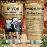 Photographer Nutrition Friends KD2 HNM1211007 Stainless Steel Tumbler