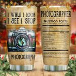 I Photographer Nutrition KD2 HNM1211005 Stainless Steel Tumbler