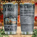 Into Forest Digital Photography Nutrition Facts KD2 HNM1211006 Stainless Steel Tumbler
