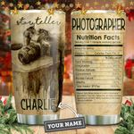 Storyteller Photography Nutrition Personalized KD2 HNM1211012 Stainless Steel Tumbler
