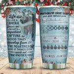 Life Photography Cheat Sheet KD2 ZZL1211008 Stainless Steel Tumbler