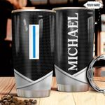 Personalized US Navy W5 Metal Style HHZ1211046 Stainless Steel Tumbler