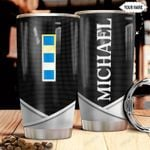 Personalized US Navy W2 Metal Style HHZ1211043 Stainless Steel Tumbler
